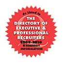 Recruiter Redbook Seal of Executive Recruiter Professionals