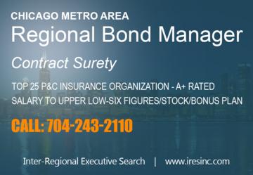 Job Posting Regional Surety Bond Manager