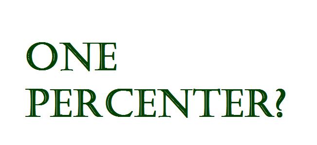 One Percenters